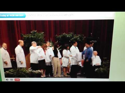 2012-07-21 White Coat Ceremony - Christine Langner