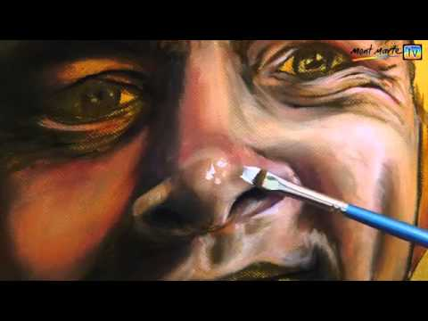 Art lesson how to paint a portrait using oil paints youtube for How to paint a portrait in watercolor