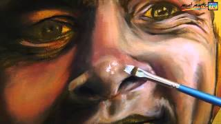 Art Lesson: How to Paint a Portrait Using Oil Paints