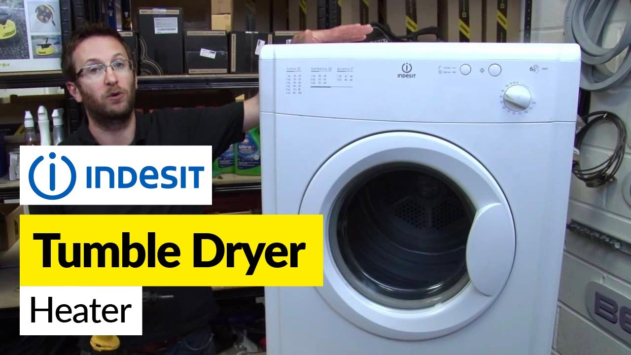 How To Replace A Heater In A Tumble Dryer Indesit Youtube