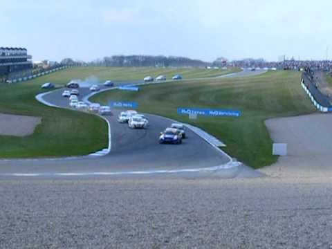BTCC Donington 2011 - Jason Plato Rolls And Crashes His Chevrolet Cruze