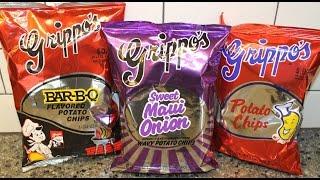 Grippo's: Bar-b-q, Sweet Maui Onion & Regular Potato Chips Review
