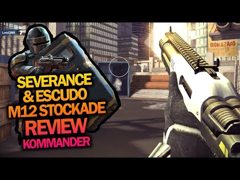 (MK6) SEVERANCE + M12 STOCKADE: KOMMANDER REVIEW | HERO CHARLY