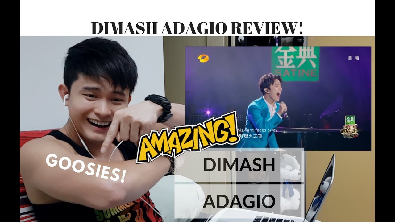 [REACTION] DIMASH proved me WRONG with ADAGIO | #JANGReacts