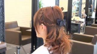Repeat youtube video 【Hair Arrange】お嬢様風の編み込みヘアアレンジ French Braid Half-Up - 第4回