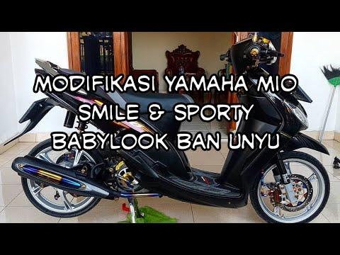 Modifikasi Yamaha Mio 2005 2009 Babylook Style Ban Unyu Part 1 Youtube