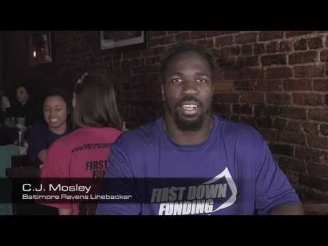 First Down Funding - Baltimore Ravens, CJ Mosley and Shogun Fights, Micah Terrill