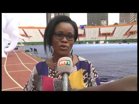 8e Jeux de de la francophonie : Préparatif de la cérémonie d'ouverture