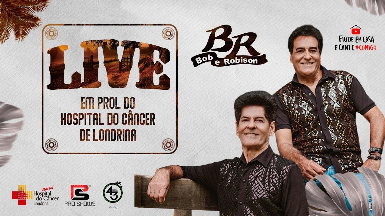 LIVE Bob e Robison - Almoçando com o Brasil