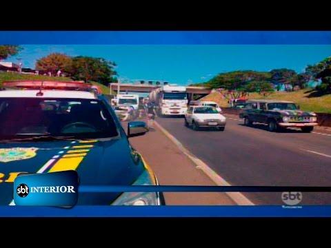 Rio Preto: Três veículos se envolvem em acidente na BR 153
