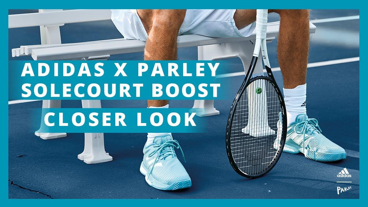 Closer Look |adidas SoleCourt Boost x