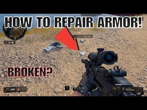 HOW TO REPAIR ARMOR IN CoD BLACKOUT!