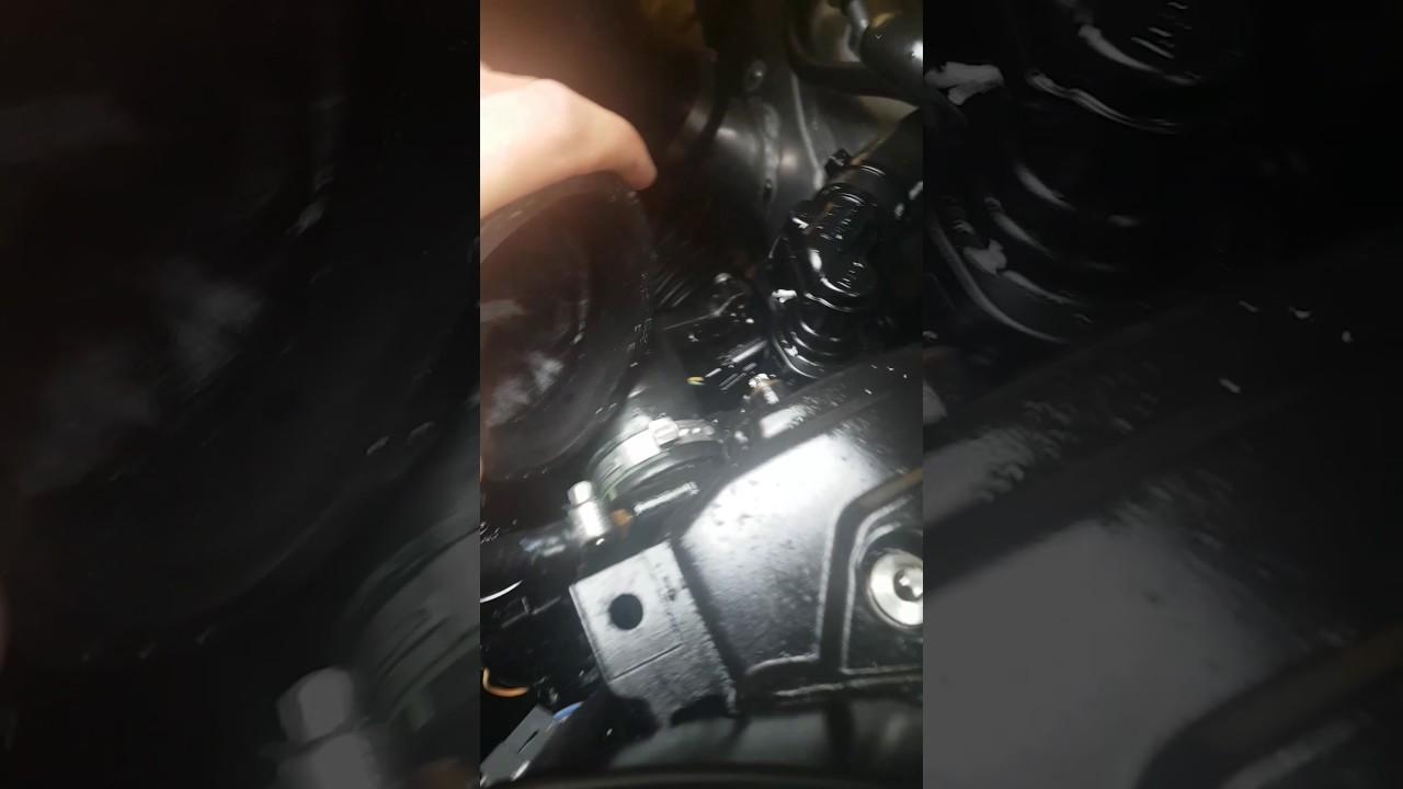 Water leak on intercooler seadoo rxt 260 rs