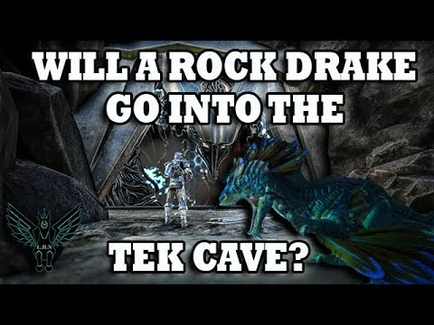 Can we take a Rock Drake into the Tek Cave? : LightTube