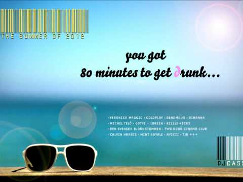DJ Cassie - The Summer of 2012 (You got 80 minutes to get drunk..) PREVIEW 320 KBPS