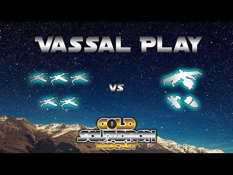 5 X-wings vs Stressbunker - Friday Night Vassal