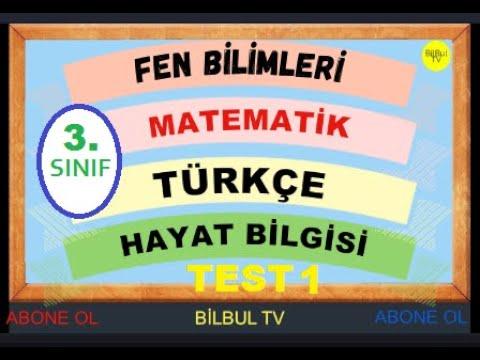 3.Sınıf Türkçe 1.Dönem Full Tekrar 📝