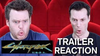 Cyberpunk 2077 - Official E3 Trailer - Reaction