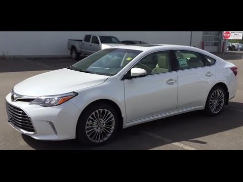 2016 Toyota Avalon Limited Review