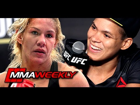Thumbnail: Amanda Nunes: 'I Want to See Cyborg With the Belt'