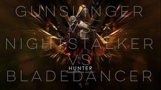 Destiny Rap Battle Nightstalker VS Bladedancer VS Gunslinger