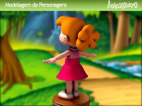 Luiza 3D - Turma do Nosso Amiguinho