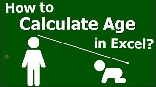 How to Calculate Age Using Excel - Excel Function / Formulas in Tamil