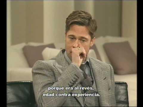 El Curioso Caso De Benjamin Button Entrevista A Brad Pitt Cate