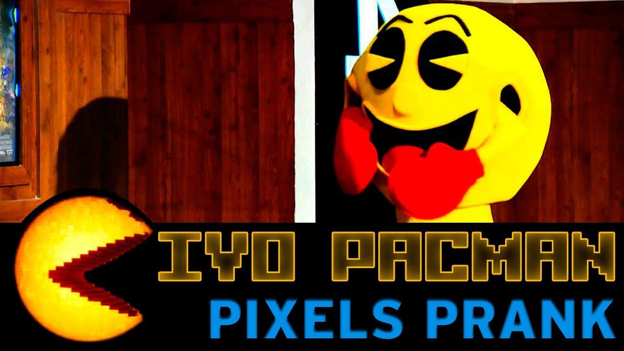 Ivo PacMan (Pixels Prank) | Câmeras Escondidas (02/08/15)