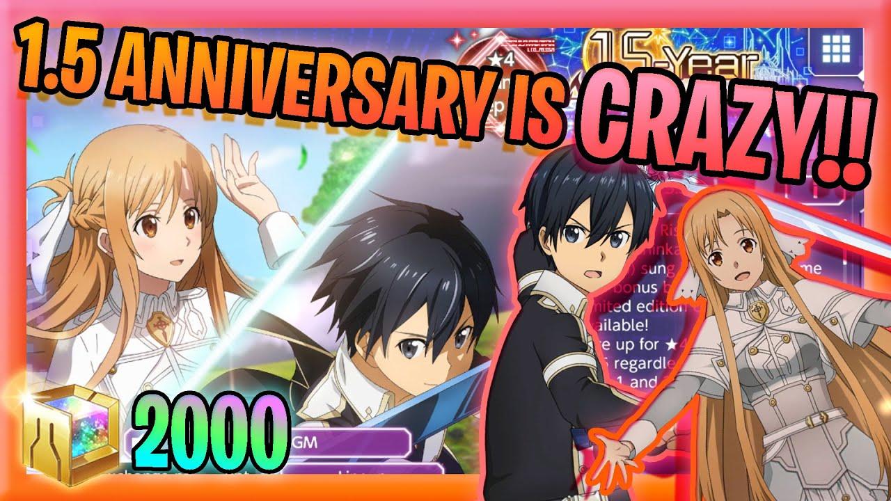 Download [SAO ARS]1.5 ANNIVERSARY Moon Cradle Kirito/Asuna are... BROKEN!!! - SAO Alicization Rising Steel