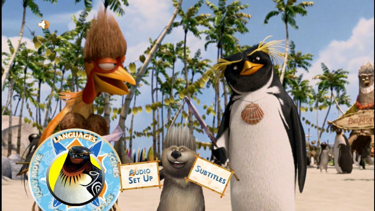 Download Surf's Up 2007 Blu-ray Menu Walkthrough