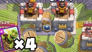 【クラロワ】10秒は甘え。5秒でキングタワー落としてやんよ!!!