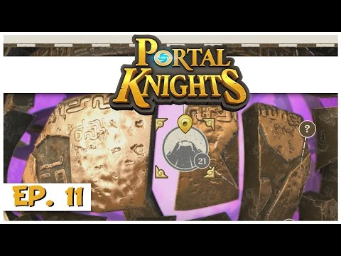 Portal Knights - Ep. 11 - Gold Ore Island! - Let's Play Portal Knights Gameplay