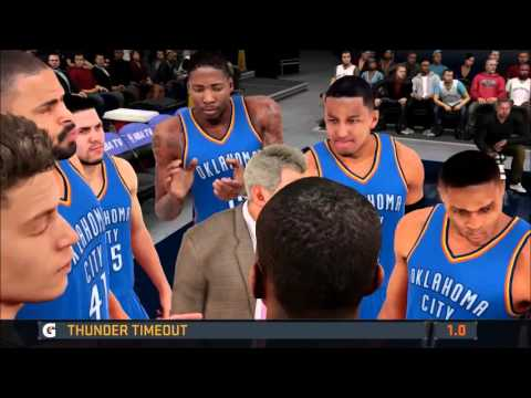NBA 2K16 - Online League - vs. Quentin