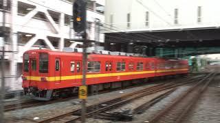 【西新井駅】東武大師線発車〜70090型中目黒行き到着.THライナー久喜行き通過