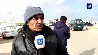 شكاوى من الازدحام وسوء التنظيم على معبر جابر - (15-2-2019)