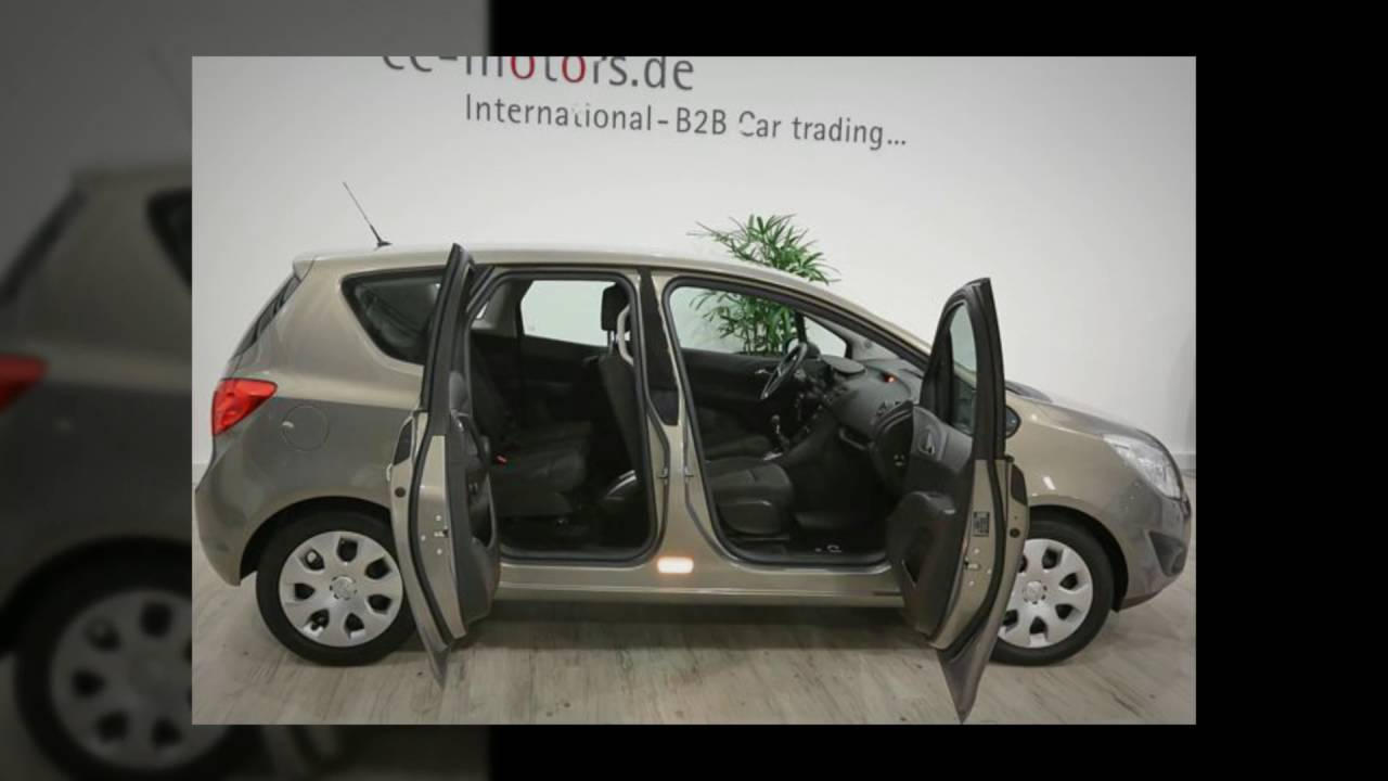 Opel Meriva B 1 4 Edition Exklsuivfahrzeuge C E Motors