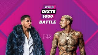 Poke VS Bizzey  | Wie heeft de ENGSTE TUNES? 😨  | DiXte 1000 Battle | Afl. 3