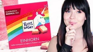 EINHORN Schokolade von Ritter Sport selber machen!   DIY