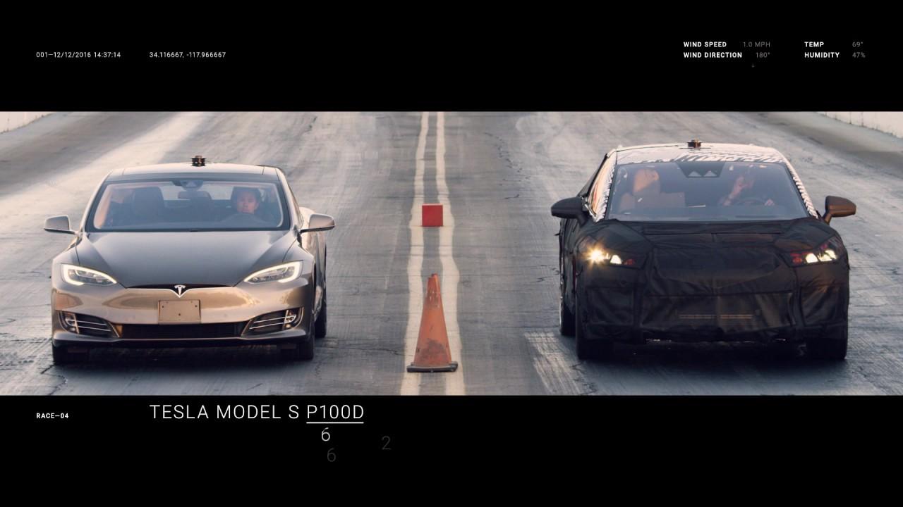 Faraday Future Ff91 Vs Tesla Model S Ferrari 488 Gtb Bentley Bentayga You