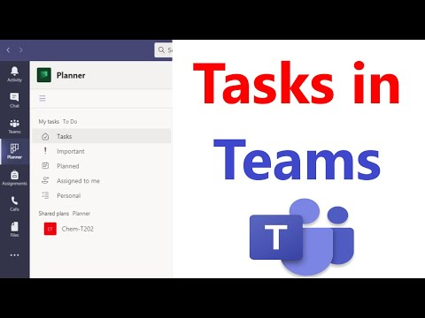 How to Add Tasks Tab to Teams | How to use Tasks in Microsoft Teams | How to Use Planner in Teams