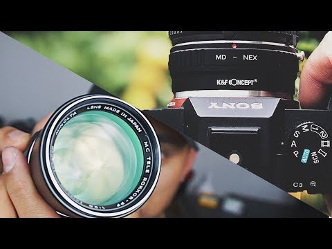K&F Lens Adapter Review - SAVE MONEY & ADAPT VINTAGE LENSES!