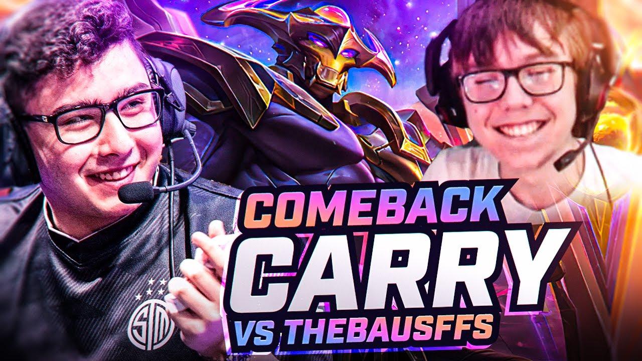 COMEBACK CARRY VS THEBAUSFFS | Broken Blade