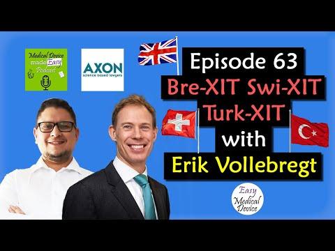 Why do we have Brexit, Swixit & Turkxit ? Erik Vollebregt (MDR & IVDR)