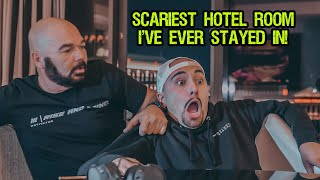 OVERNIGHT INSIDE AN EXTREMELY HAUNTED HOTEL