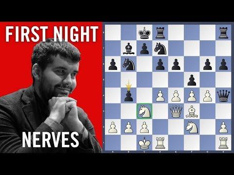 First Night Nerves - Giri vs Nepomniachtchi | Tata Steel Chess 2019