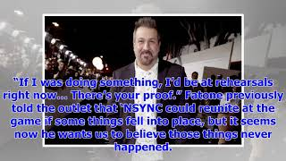 [Breaking News]' NSYNC would not be at Justin Timberlake Superbowl 52 halftime show says Joey Fatone