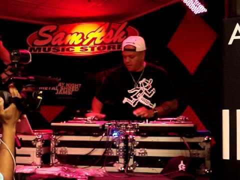DJ Jaycee, DJ Expo 2013, Sam Ash Music Store, Atlanta GA