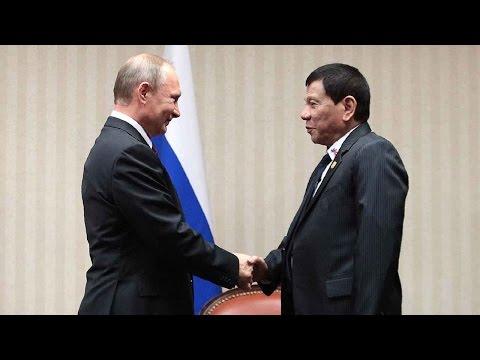 Duterte to meet his 'idol' Putin in Moscow