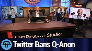 Twitter Bans 1000s of Q-Anon Accounts